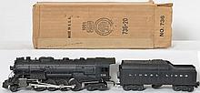 Lionel 736 Berkshire with 2046W Lionel Lines tender with original locomotive box