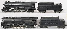 Lionel 675 and 671 steam locomotive with tenders
