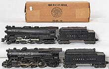 Lionel 675 and 2065 locomotives with Lionel Lines whistle tenders