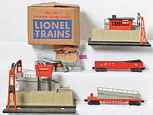 Lionel 342 culvert loader and 345 unloader