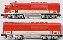 Lionel 2245P and 2245C Texas Special F-3 A-B units