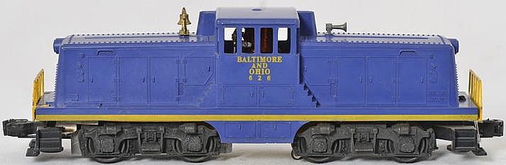 Clean Lionel 626 Baltimore and Ohio center cab switcher