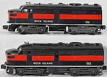 Lionel 2031 Rock Island Alco A-A set