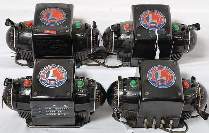 4 Lionel 275 watt ZW transformers