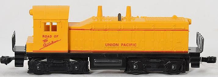 Clean Lionel 635 Union Pacific switcher