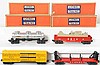 4 Lionel freight cars in original boxes 6415, 3444, 6356, 6467