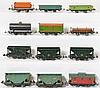 12 Lionel prewar freight cars 807, 803, 902, 805, 809, etc