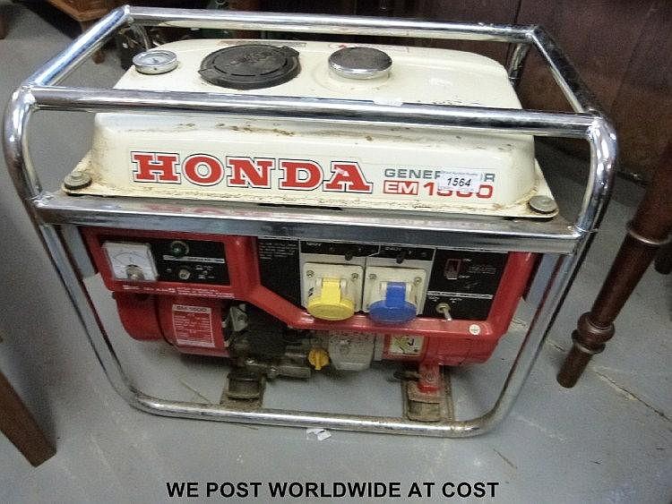 honda em  petrol generator