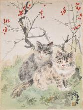 Wang Yachen (1894-1983) Cats