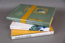Three Cartier Hardcover Books