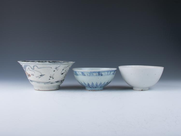 A Group of Porcelain Bowls