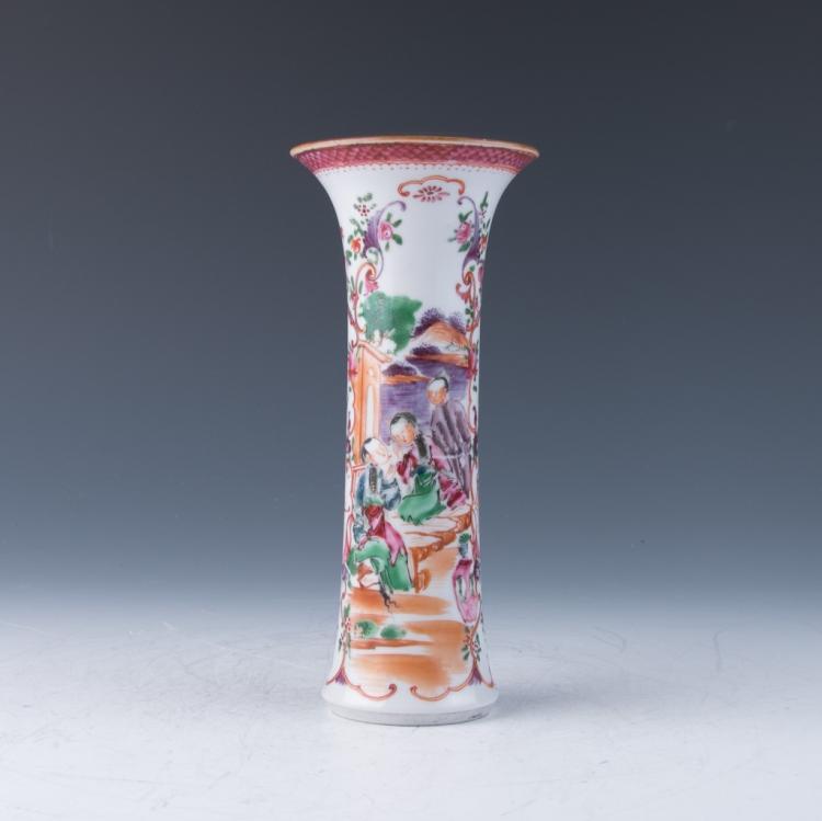 An Export Gu Vase, Qing Dynasty