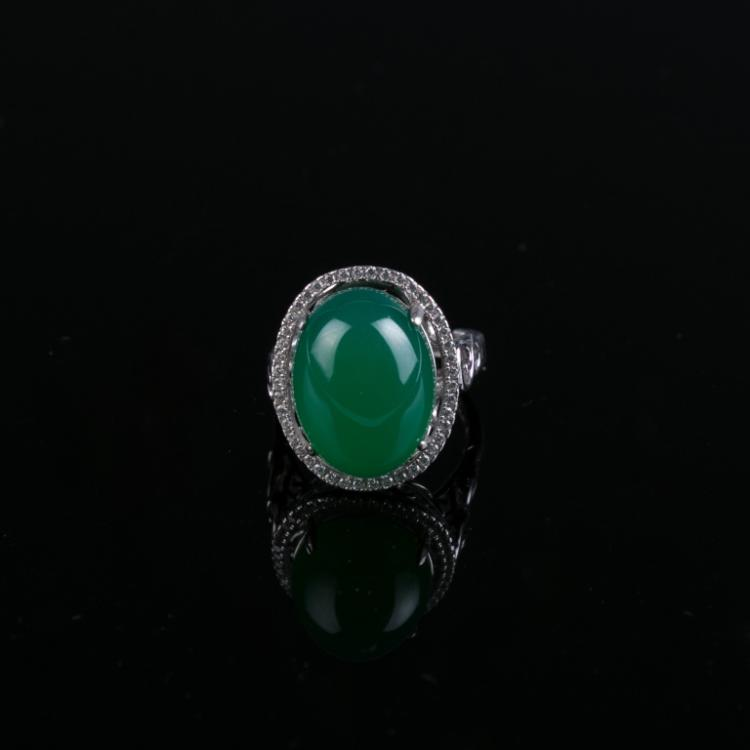 An Agate Ring