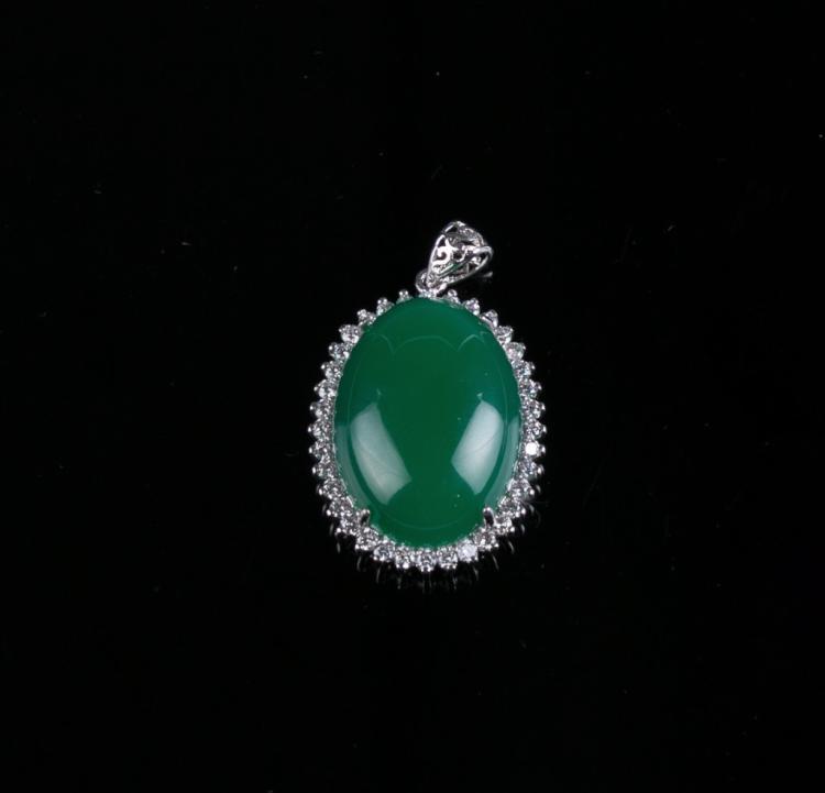 An Agate Pendant