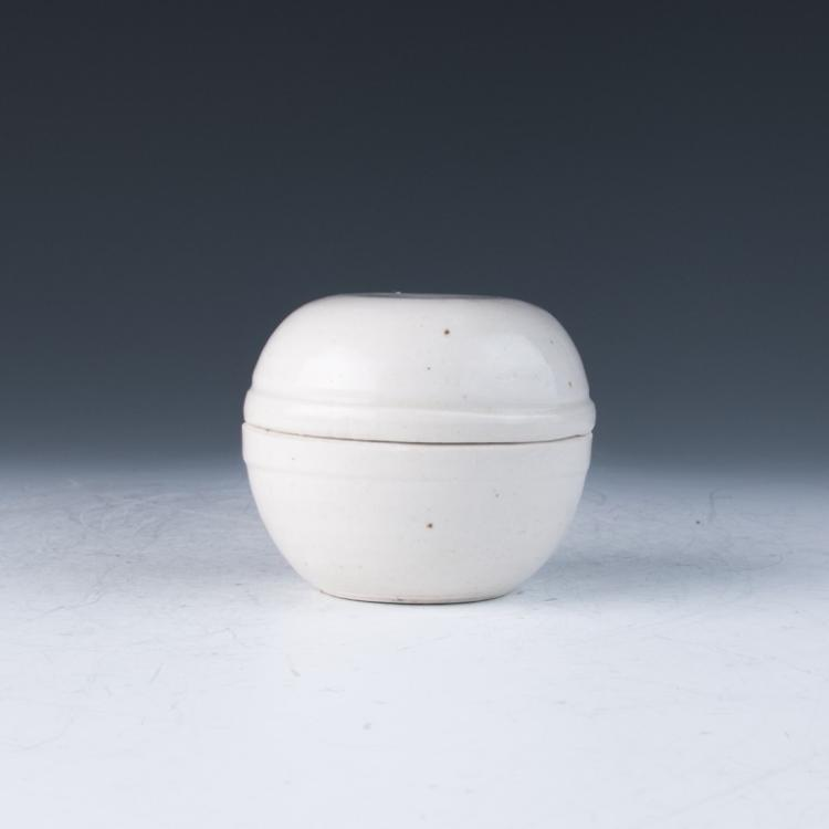 A White Glazed Cover Box