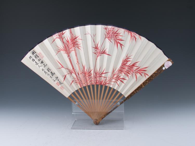 A Folding Fan Painting