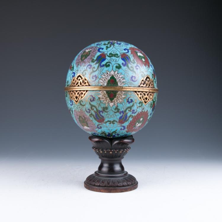 A Cloisonne Enamel Censer, 19th Century