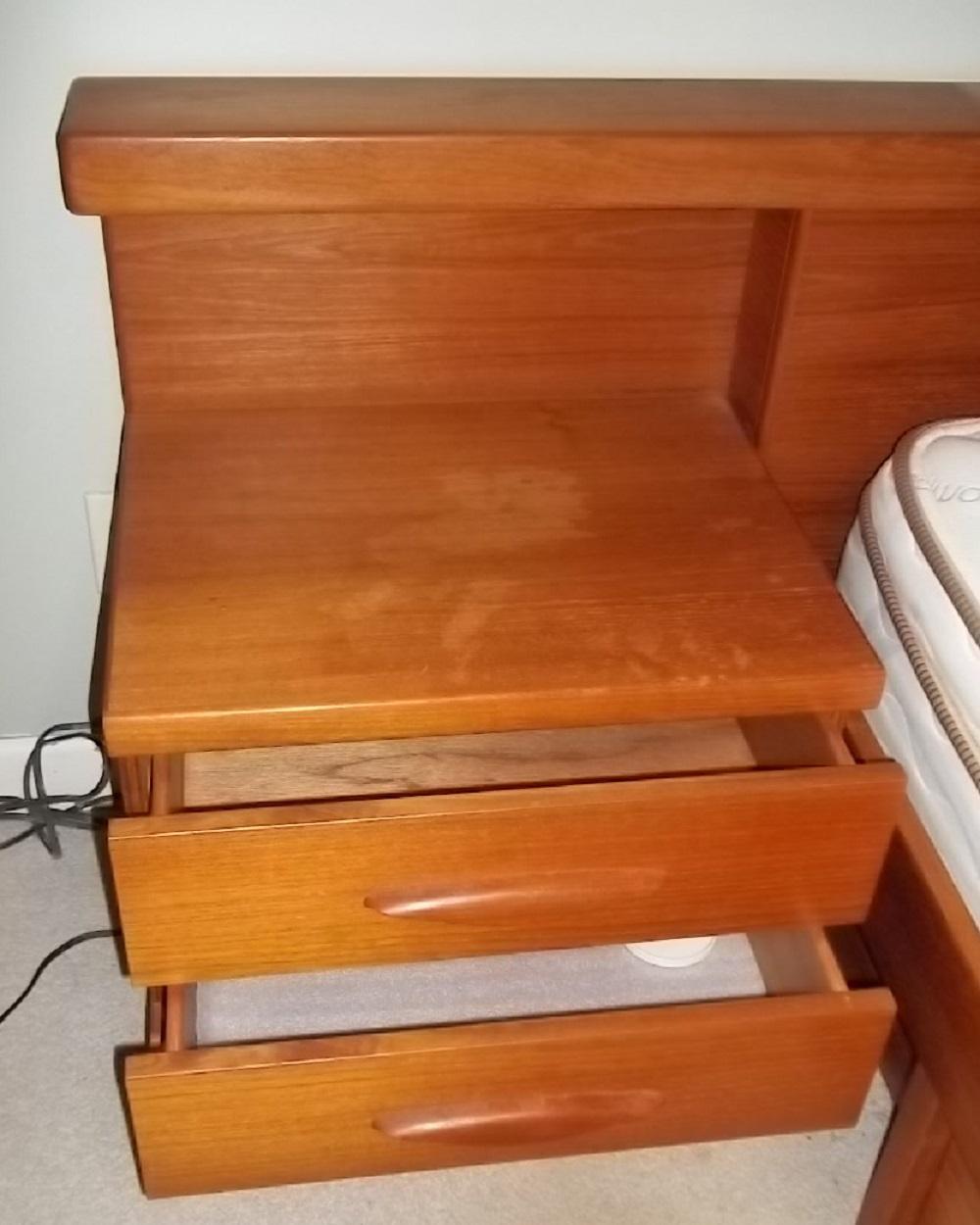 Scandinavian Teak Bedroom Suite