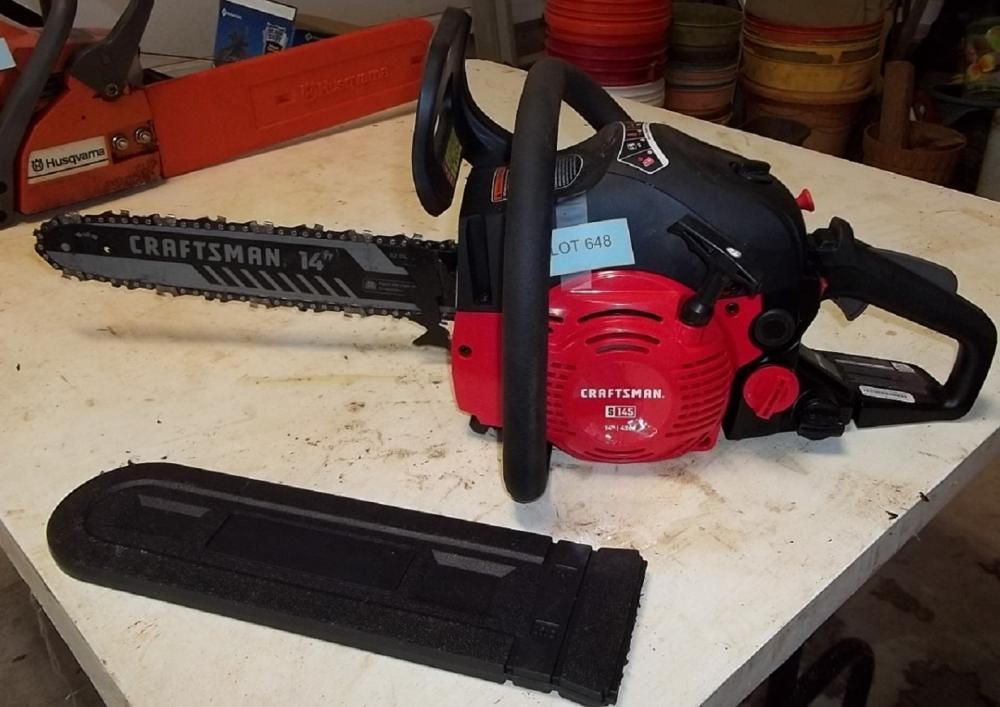 Craftsman chain saw