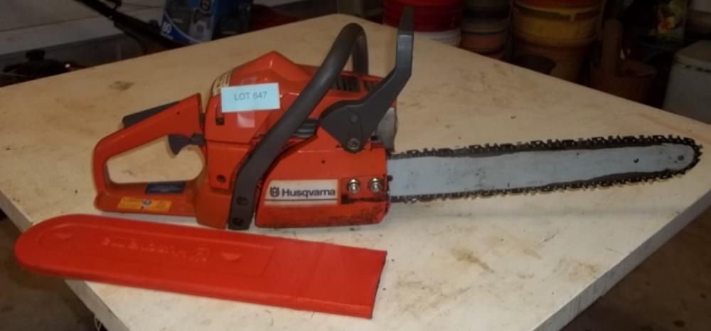Husqvarna 137 chain saw
