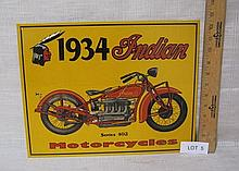 Indian Motorcycles sign - new