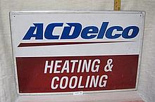 AC Delco Heating & Cooling sign