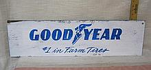 Good Year #1 in Farm Tires sign