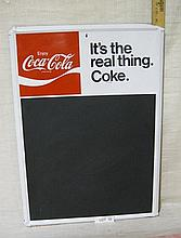 Coca-Cola Chalkboard sign