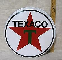 Texaco Round sign -new