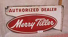 Merry Tiller Flange sign
