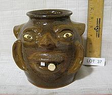 Dale Costner Face Jug