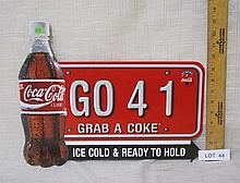 Coca-Cola Cardboard sign - new