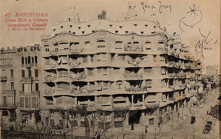 Joan mir barcelona 1893 palma de mallorca 1983 - Milar palma de mallorca ...