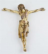 Christ.  Gilded copper sculpture.  16th century.