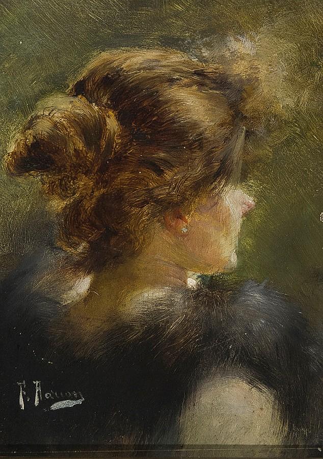 Félix Alarcón (Sevilla, 19th Century) Oil on
