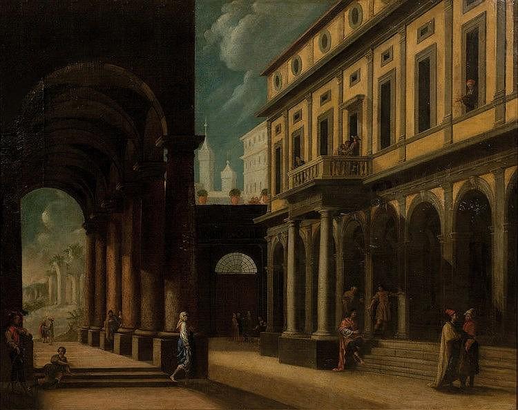 Viviano Codazzi Circle (Bergamo 1603-1672 Rome)