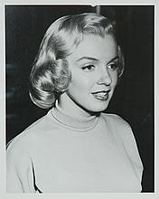 Original black and white photograph of Marilyn Monroe.