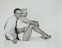 Photograph and original black and white prints of Marilyn Monroe and Tom Ewell taken by Frank Powolny.