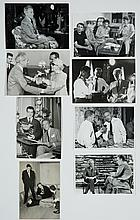 Lot of 7 original black and white photographs of Jean Cocteau.