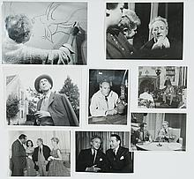 Lot of 8 original black and white photographs of Jean Cocteau.