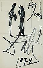 "Salvador Dalí (Figueres, 1904 - 1989)<br>""El Angelus de Millet"""