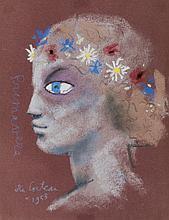 Jean Cocteau (Maisons-Laffitte, Milly-la-Forêt, 1889 - 1963)<br>Primevère<br>