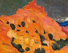 "Miquel Villá Bassols (Barcelona, 1901 - Masnou, 1988)<br>""Pobla de Segur"