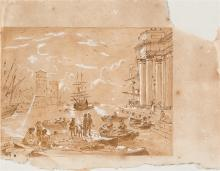 Attributed to Claude Lorrain (Chamagne, France c. 1600 - Rome, 1682)