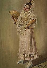 Andrés Larraga (Valtierra, 1862 - Barcelona, 1931)