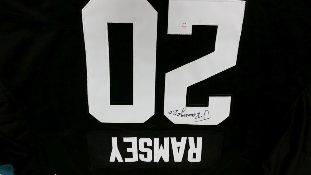 hot sale online 69217 c5cca Jalen Ramsey of the Jacksonville Jaguars signed autographed ...