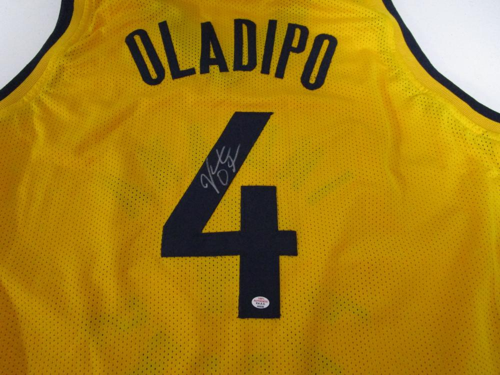 pretty nice 50462 013b0 Victor Oladipo of the Indiana Pacers signed autographed ...