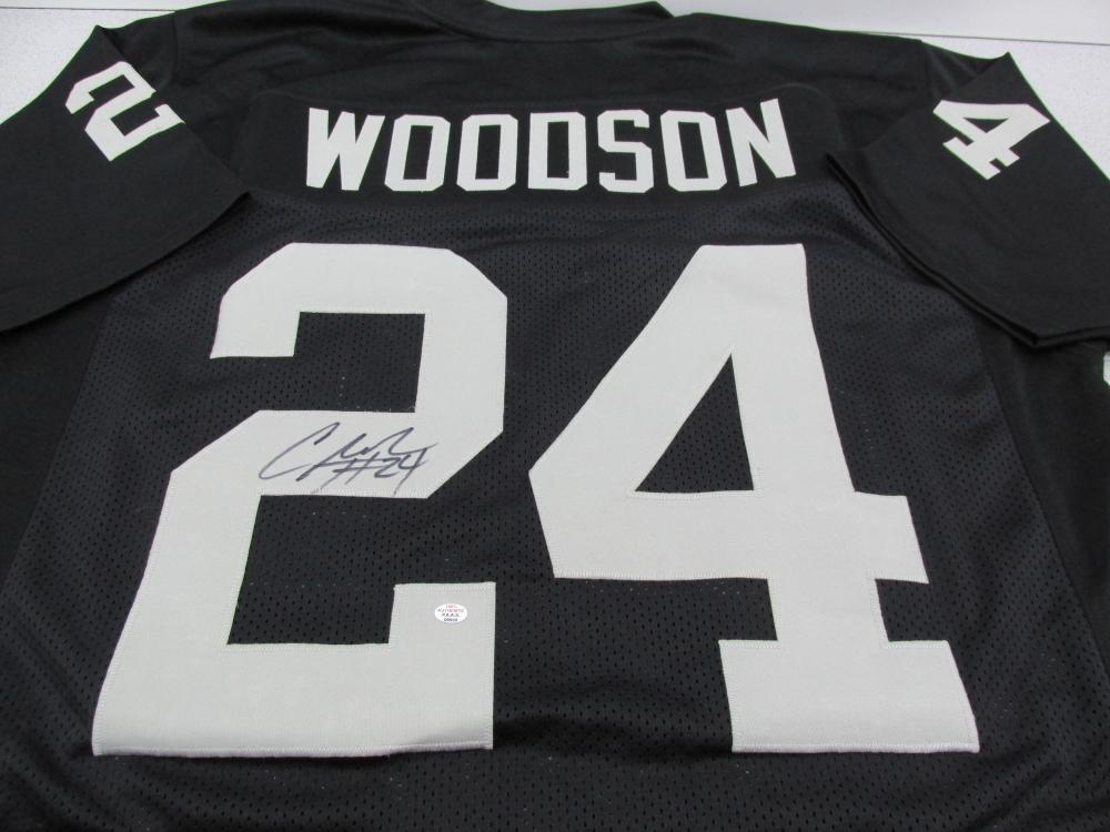 the best attitude 2a408 a5e97 Charles Woodson of the Oakland Raiders signed autographed ...