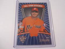 2005 Topps All-Star Stitches Billy Wagner All-Star Worn Workout Jersey Phillies