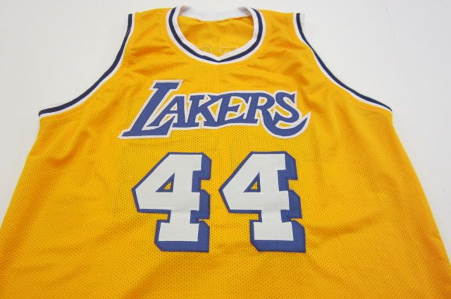 promo code 5c7e3 5e6d8 Jerry West Los Angeles Lakers signed autographed yellow ...